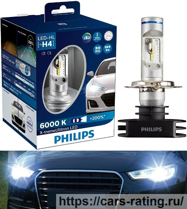 Philips Ultinon LED 6000K
