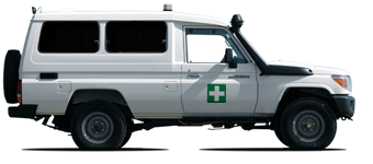Land Cruiser 78 Hardtop Ambulance